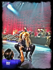 Gloria Trevi in concert at Nokia, May 11, 2012- Photo by LethalFatal.com