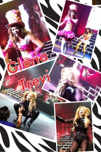 Gloria Trevi in concert at Nokia, May 11, 2012