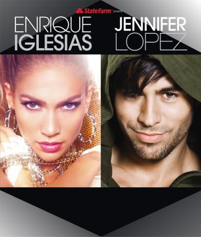 Enrique and JLo
